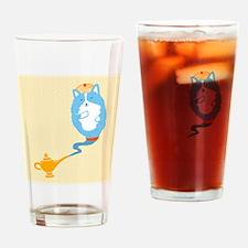 Corgi Genie Drinking Glass