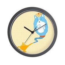 Corgi Genie Wall Clock