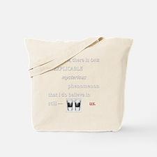 Believe in Us Tote Bag