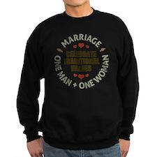 Celebrate Traditional Values Sweatshirt