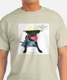 Black Lab Farmer T-Shirt