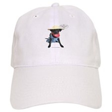 Black Lab Farmer Baseball Cap