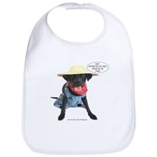 Black Lab Farmer Bib