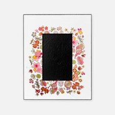 Bunnies Floral Picture Frame