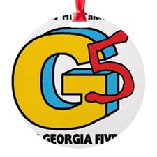 The Georgia 5 Ornament