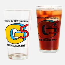 The Georgia 5 Music Video Logo Drinking Glass