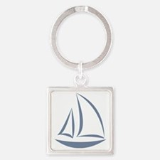 segeln Square Keychain