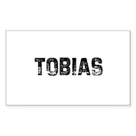 Tobias Rectangle Sticker