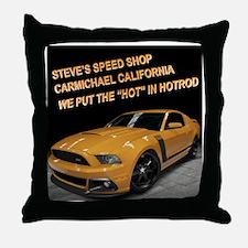 Boss 302 Throw Pillow