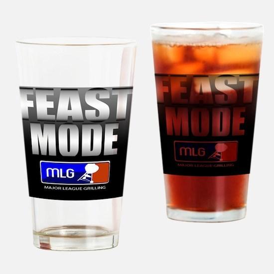 FEAST MODE Drinking Glass