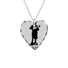 Only Need This Uke Necklace Heart Charm