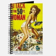 Attack of the 50 Foot Woman Poster Journal