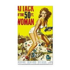 Attack of the 50 Foot Woman P Rectangle Car Magnet