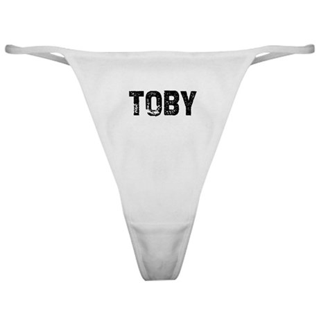 Toby Classic Thong