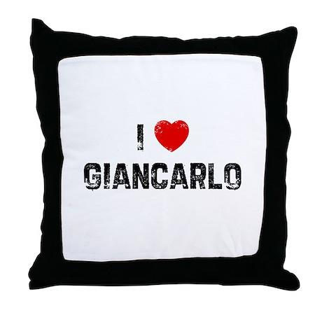 I * Giancarlo Throw Pillow