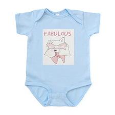 Husky Cartoon Infant Creeper