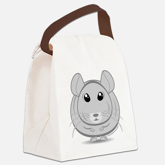 Life is great...Chinchillas make  Canvas Lunch Bag