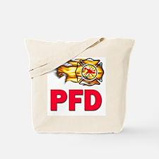 PFD Fire Department Tote Bag