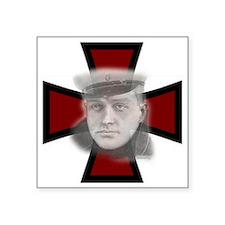 """Red Baron Square Sticker 3"""" x 3"""""""