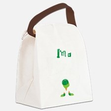 Im A Bird Canvas Lunch Bag