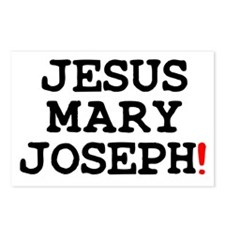 JESUS MARY JOSEPH! Postcards (Package of 8)