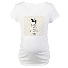 Keep Calm and Piaffe On Dressage Shirt