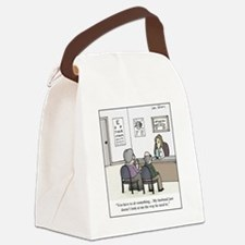 Optometrist problem Canvas Lunch Bag