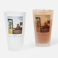 Chuck me Drinking Glass
