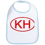 KH Oval (Red) Bib