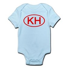 KH Oval (Red) Infant Bodysuit