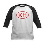 KH Oval (Red) Kids Baseball Jersey