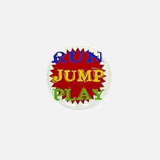 Run Jump Play Mini Button