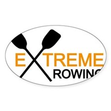 extreme rowing Decal