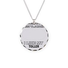 I like my Toller Necklace Circle Charm