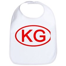KG Oval (Red) Bib
