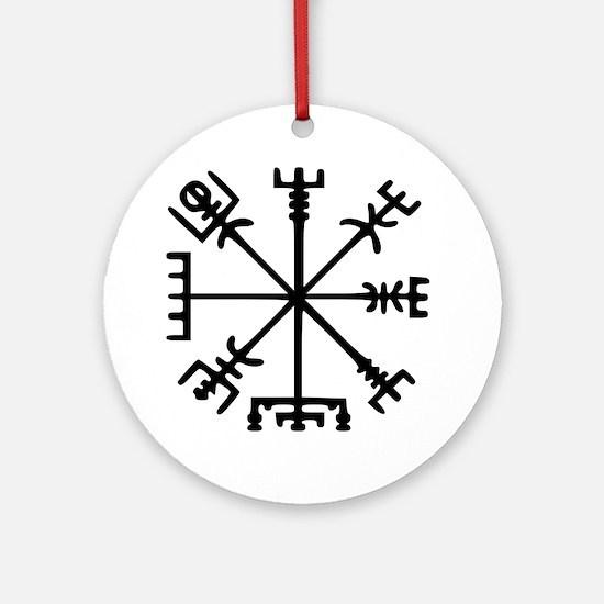 Aegishjàlmr, Helm of Awe Round Ornament