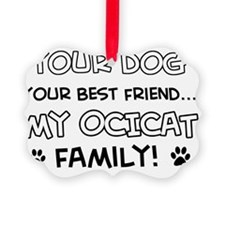 Ocicat Cat family Ornament