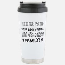 Ocicat Cat family Travel Mug