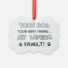 Laperm Cat family Ornament