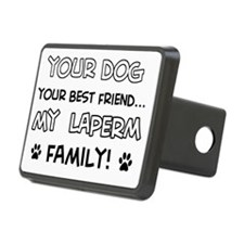 Laperm Cat family Hitch Cover