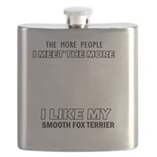 I like my Smooth Fox Terrier Flask