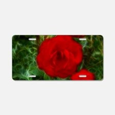 rr_laptop_skin Aluminum License Plate