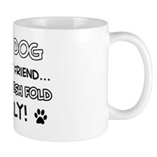 Scottish Fold Cat family Mug