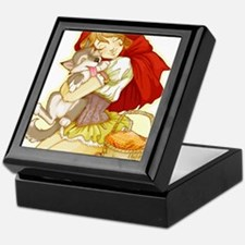 Red and Little Wolf Keepsake Box