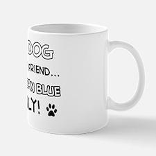 Russian Blue Cat family Mug