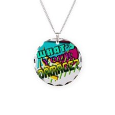 Whats Your Damage? Necklace