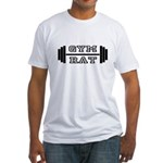 GYM RAT Fitted T-Shirt