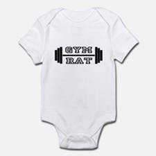 GYM RAT Infant Bodysuit