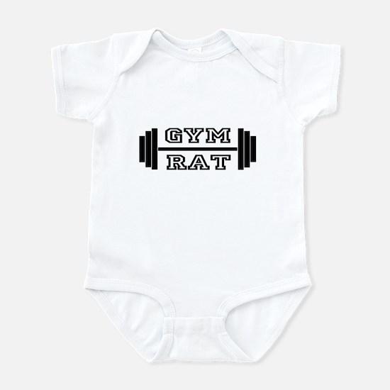 GYM RAT Infant Bodysuit
