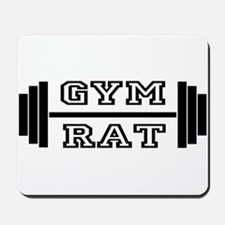 GYM RAT Mousepad